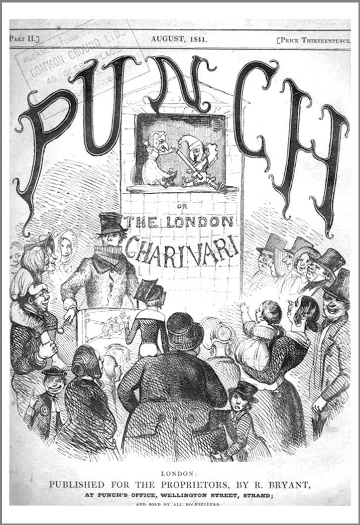 Figure 55: The cover of Punch for Aug. 1841